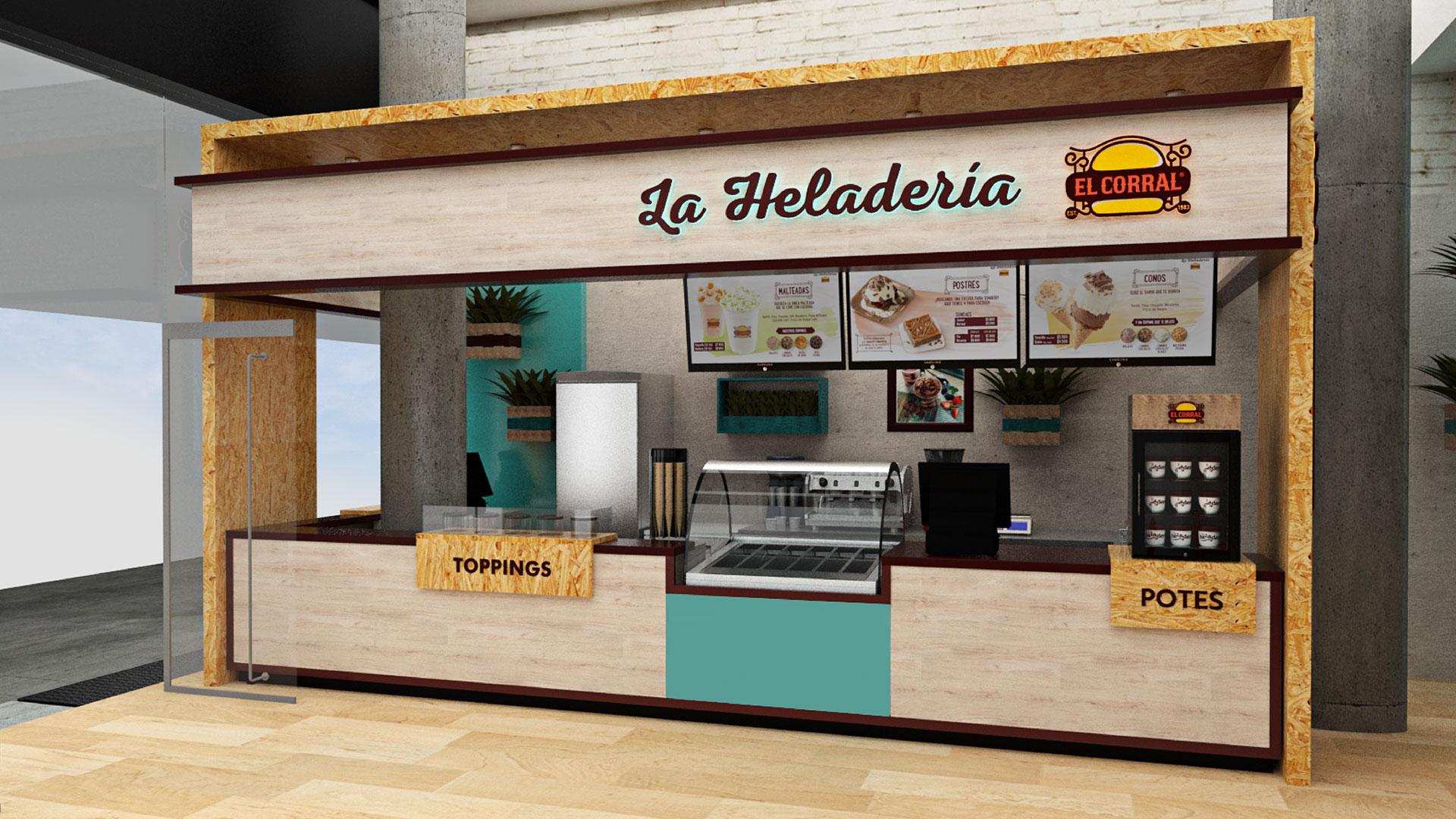 La Heladeria El Corral 14 - 360 Grados